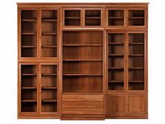 - Modular solid wood bookcase MODULO '900 | Solid wood bookcase - Morelato