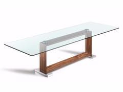 - Rectangular crystal table MONACO | Table - Cattelan Italia