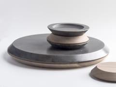 Vassoio / tagliere in rovere e pietraMONDI PARALLELI - GUMDESIGN