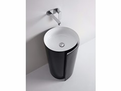 - Ceramic washbasin MONOROLL | Washbasin - CERAMICA FLAMINIA