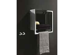- Chrome wall-mounted towel warmer MONTECARLO | Chrome towel warmer - Tubes Radiatori