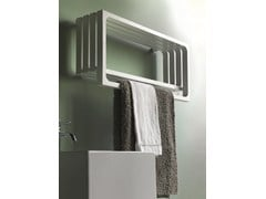 - Horizontal wall-mounted towel warmer MONTECARLO | Horizontal towel warmer - Tubes Radiatori