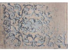 - Handmade rectangular rug MONTESPAN SFUMATO GHOST PASTEL - EDITION BOUGAINVILLE