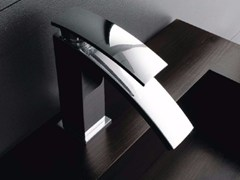- Single handle 1 hole washbasin mixer MOON | Washbasin mixer - ZAZZERI