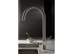 - Kitchen mixer tap with swivel spout with pull out spray MOONY | Kitchen mixer tap - NEWFORM