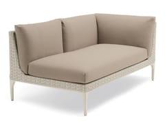 - Corner modular 2 seater sofa MU | 2 seater sofa - Dedon