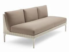- Modular 3 seater garden sofa MU | 3 seater sofa - Dedon