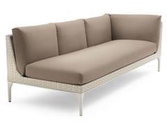 - Corner modular 3 seater sofa MU | 3 seater sofa - Dedon