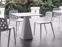 Tavolo da giardino quadrato in tecnopolimeroMUG - GABER