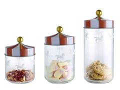 Contenitore per alimenti in vetro serigrafatoMW30 | Contenitore per alimenti - ALESSI