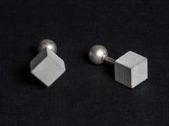 - Gemelli in calcestruzzo Micro Concrete Cufflinks #2 - Material Immaterial studio