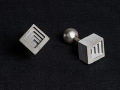 - Gemelli in calcestruzzo Micro Concrete Cufflinks #4 - Material Immaterial studio