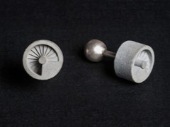 - Gemelli in calcestruzzo Micro Concrete Cufflinks #9 - Material Immaterial studio