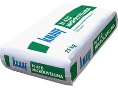 Malta secca premiscelata pronta all'usoN 410 MICROLIVELLINA - KNAUF ITALIA