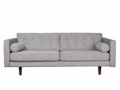 - 3 seater fabric sofa N101   3 seater sofa - Ethnicraft