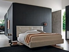 - Double bed with upholstered headboard NATURE | Bed with upholstered headboard - MOLTENI & C.