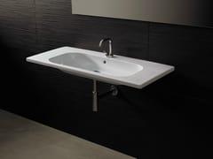 - Rectangular ceramic washbasin NEAT CONSOLLE 105 - Alice Ceramica