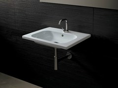 - Rectangular ceramic washbasin NEAT CONSOLLE 60 - Alice Ceramica