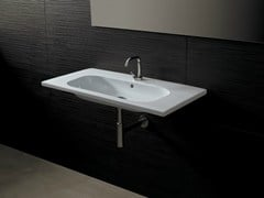 - Rectangular ceramic washbasin NEAT CONSOLLE 90 - Alice Ceramica