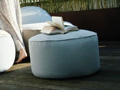 - Fabric pouf with removable lining NEST | Garden pouf - GART Art & Design Group