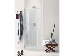 - Niche glass shower cabin with folding door NEW CLAIRE - 6 - INDA®