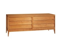 - Cherry wood dresser NEW YORK | Dresser - Morelato