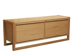Panca / scarpiera in legno impiallacciatoNEWEST | Panca contenitore - WOODMAN