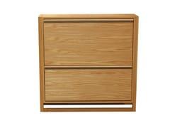 Scarpiera in legno impiallacciatoNEWEST | Scarpiera in legno impiallacciato - WOODMAN