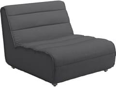 - Modular technical fabric garden armchair NOMAD | Modular easy chair - Gloster
