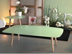 - Rectangular coffee table NORD RETTANGOLARE - MEME DESIGN