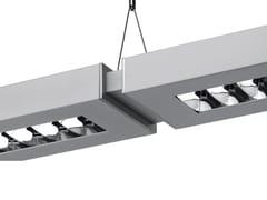 - Direct-indirect light aluminium pendant lamp with dimmer NOTA BENE SYSTEM - Artemide Italia