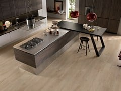 - Porcelain stoneware wall/floor tiles with wood effect NOTE HONEY - CERAMICHE KEOPE