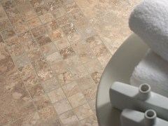 Mosaico in ceramicaNU_TRAVERTINE CONTROFALDA   Mosaico - CERAMICA FIORANESE