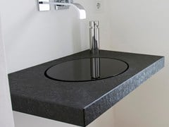 - Single granite washbasin countertop Natural stone washbasin countertop - baqua