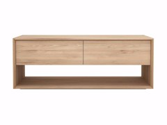 - Low solid wood TV cabinet OAK NORDIC | TV cabinet - Ethnicraft