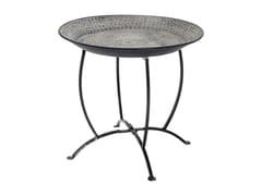 - Round aluminium tray OASIS BLACK - KARE-DESIGN