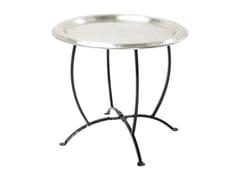 - Round aluminium tray OASIS SILVER - KARE-DESIGN