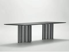 - Rectangular metal dining table OH | Rectangular table - da a