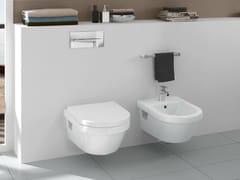 - Wall-hung ceramic bidet OMNIA ARCHITECTURA DESIGN | Wall-hung bidet - Villeroy & Boch