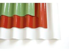 Lastra in poliestere colorata opacaONDUCLAIR COLOR - ONDULINE ITALIA