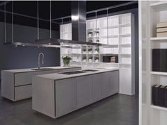 - Cement kitchen with island ONE | Kitchen - RIFRA