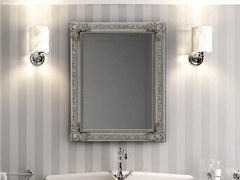 - Rectangular framed mirror OPERA - Hidra Ceramica