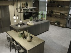 - Aluminium kitchen with island OPERA | Kitchen with island - Snaidero