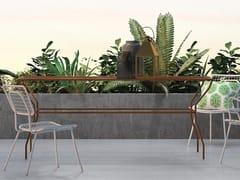 - Tavolo da giardino rettangolare in metallo OPLÀ | Tavolo rettangolare - Imperial Line