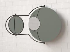 Specchio a pareteORBIT - 1965 BY OMK DESIGN