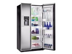 - Frigorifero americano in vetro a specchio con dispenser ghiaccio classe A+ ORE 24 CGF KB CPS - mabe |Ge Partner Appliances