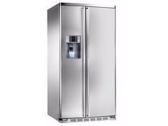 - Frigorifero americano no frost in acciaio inox con dispenser ghiaccio classe A+ ORE 30 VGC SS TXE - mabe |Ge Partner Appliances