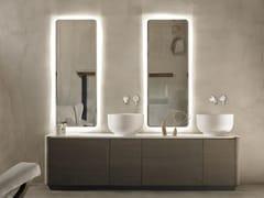 - Double wooden vanity unit with drawers ORIGIN | Double vanity unit - INBANI