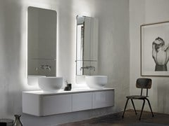 - Double wall-mounted vanity unit with drawers ORIGIN | Wall-mounted vanity unit - INBANI