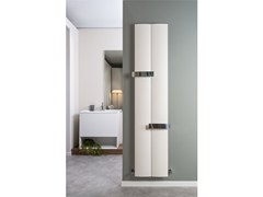 - Vertical wall-mounted aluminium decorative radiator OTHELLO TWIN SLIM - RIDEA